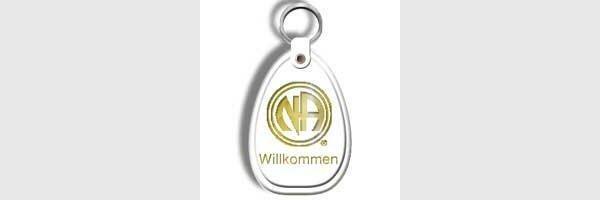 Schlüsselanhänger, deutsch