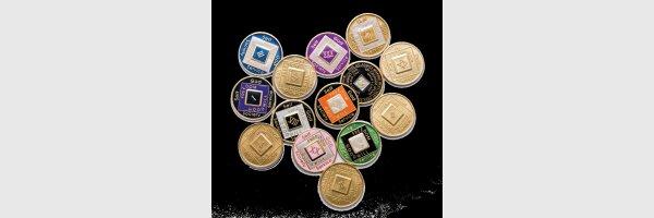 Münzen Triplate